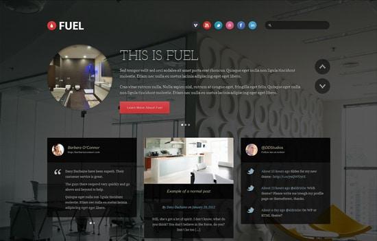 Fuel - Responsive HTML Theme