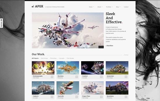 Apex Responsive Portfolio Template