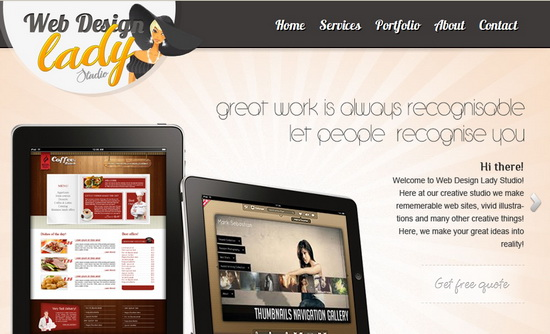 Web Design Lady Studio