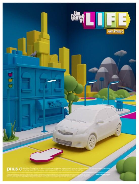 Toyota Prius C / Game of Life