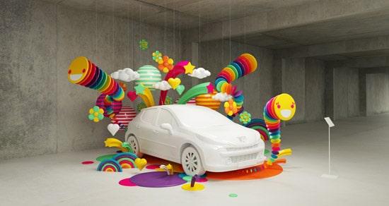 Peugeot 'ptimist Campaign