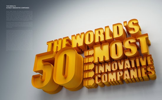 Fast Company. World's 50 Most Innovative Companies.