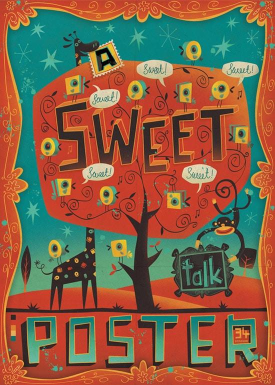 A Sweet Talk Poster