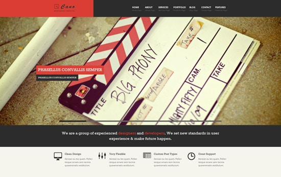 CANO - Responsive WordPress Theme