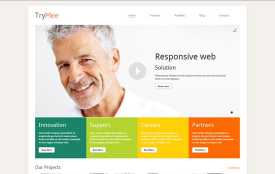 TryMee - Premium responsive corporate theme