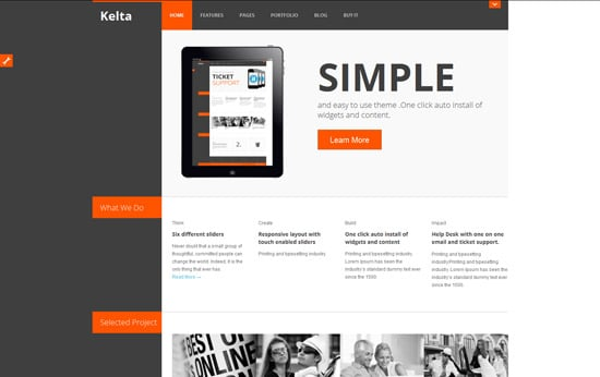 Kelta Responsive for Business Portfolio