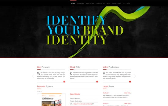 Creative Portfolio - WordPress