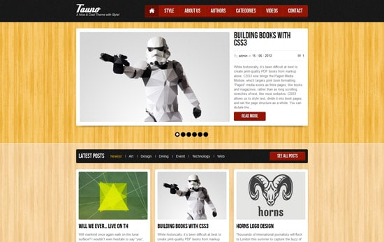 Tauno - Blog / Magazine