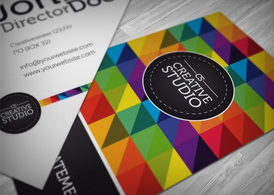 RW Creative Studio Business Card