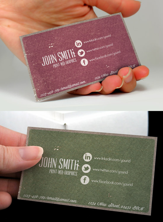 60 premium business card templates designrfix social media vintage business card wajeb Images