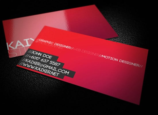 60 premium business card templates designrfix minimal style business card wajeb Images
