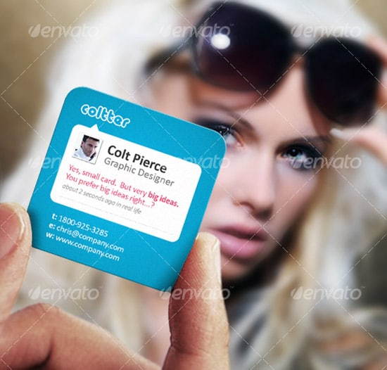 A Business Card Designed to Impress