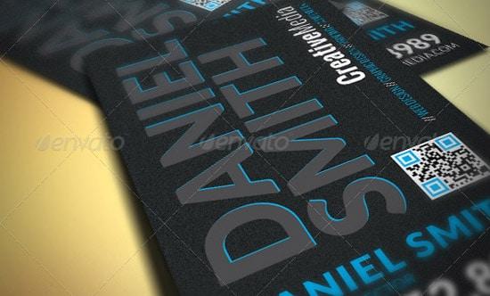 60 premium business card templates designrfix dark modern business card colourmoves