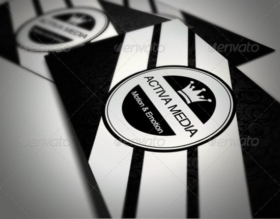 Premium V2 Business Card