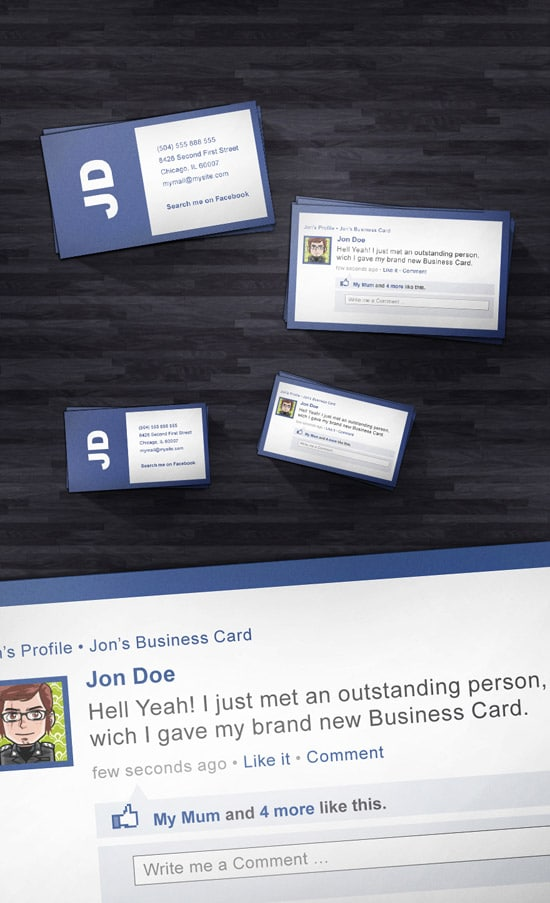 Social Style Business Card