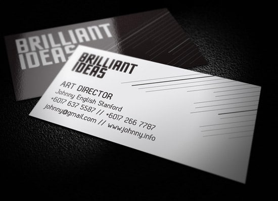 60 premium business card templates designrfix brilliant corporate identity reheart Image collections