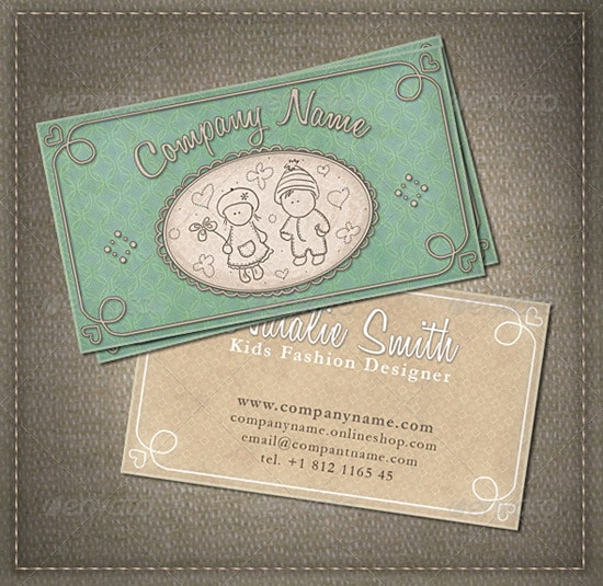 Kids and Babies Business Card