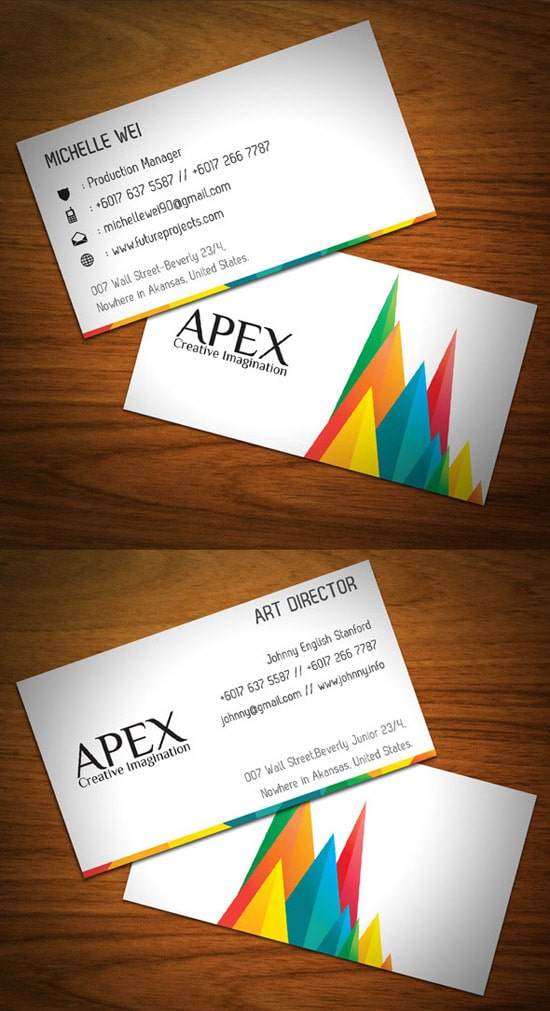 Ideas Business Cards Stationery 3 In 1 Bundle