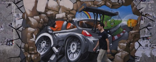 20 Absolutely Inspiring 3D Street Art
