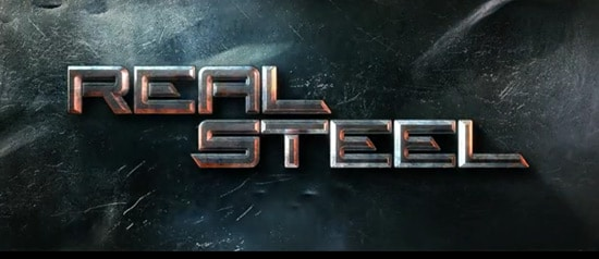 Aetuts+ Hollywood Movie Title Series – Real Steel