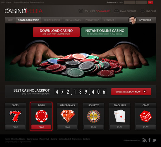 How To Design A Casino Website Layout