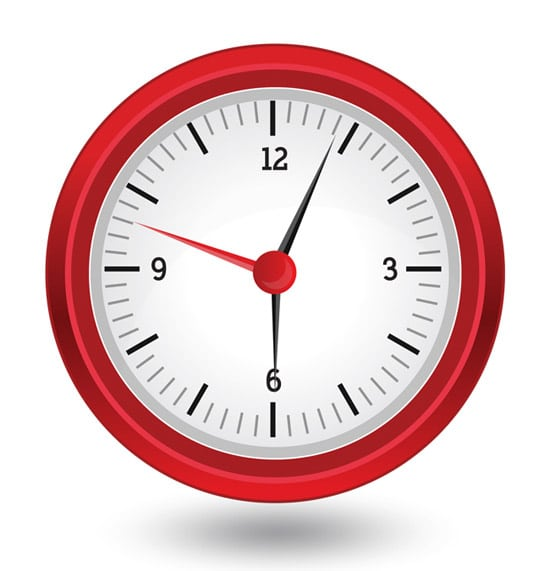 How to Create an Analog Clock Icon in Illustrator