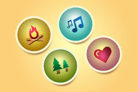 Quick Tip: How to Create Vector Camp Badges
