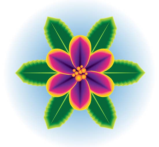 Create a One Stroke Tropical Flower Using Adobe Illustrator CS6