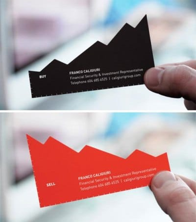 Buy Low, Sell High Business Card