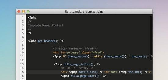 Code Editor App (PSD)