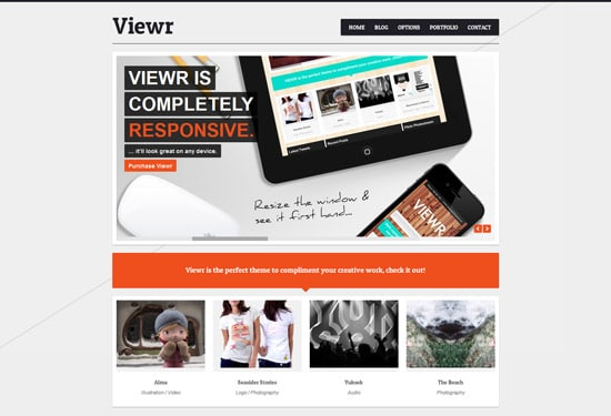 Viewr - Creative Agency Theme