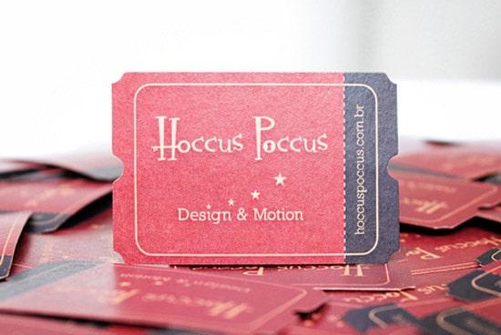 Hoccus Poccus Card