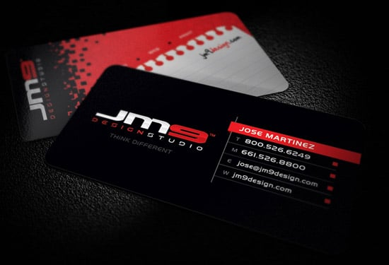 JM9 Design Studio Business Card