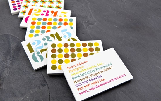 Colorful, Bold, Business Cards