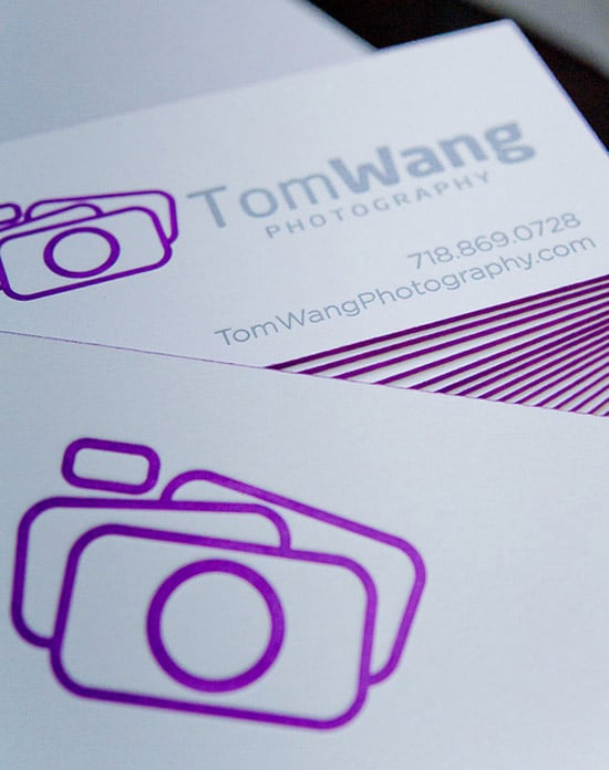 Photography Letterpress Design