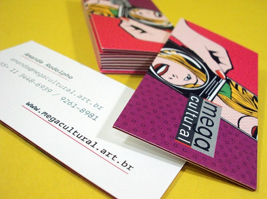 Mega Cultural – new business cards