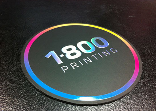 Round Spot UV Cards