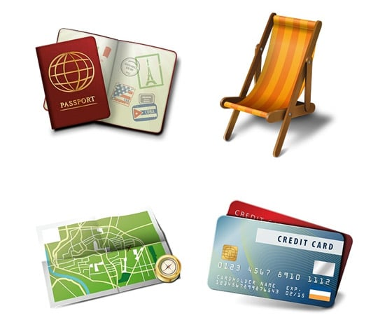 Travel and Tourism - Part 1 Icon Set