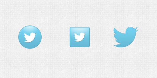 Free PSD: New Twitter icon