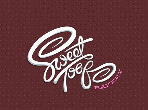 Sweet Toof bakery identity