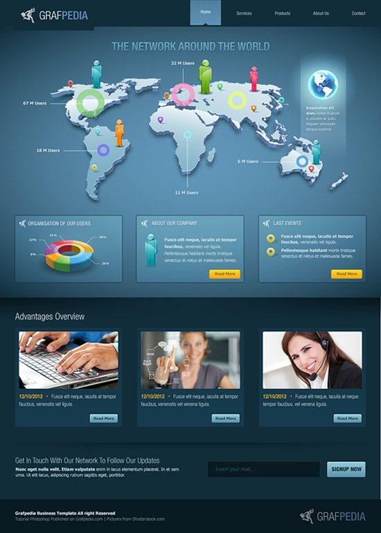 HOW TO DESIGN A BUSINESS WEB LAYOUT