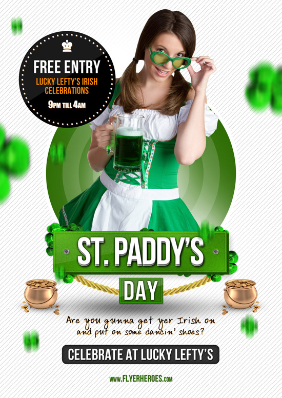 St Paddy's Day Flyer Template