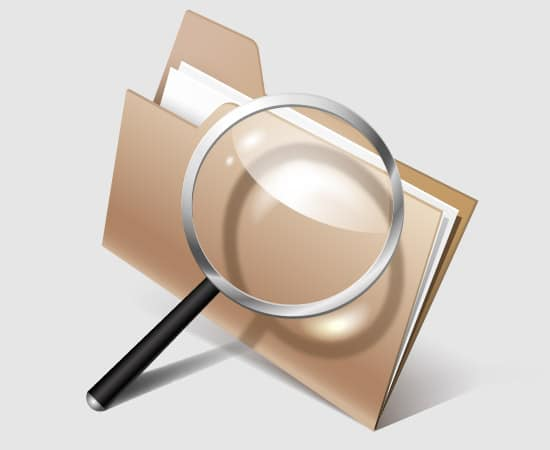 How to Create Search Files Icon in Adobe Illustrator