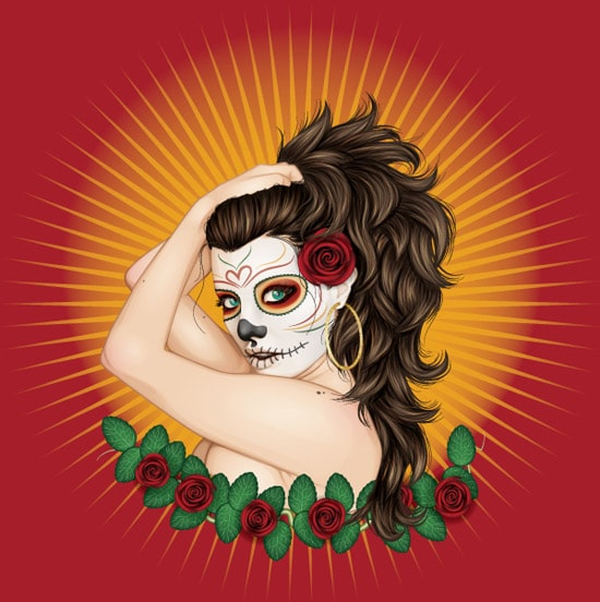 Creating a Day of the Dead Inspired Portrait