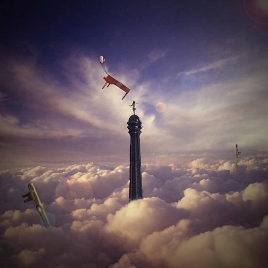 How to Create a Surreal Photo Manipulation of the Eiffel Tower