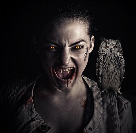 Vampire Effect in Photoshop – Advanced Tutorial