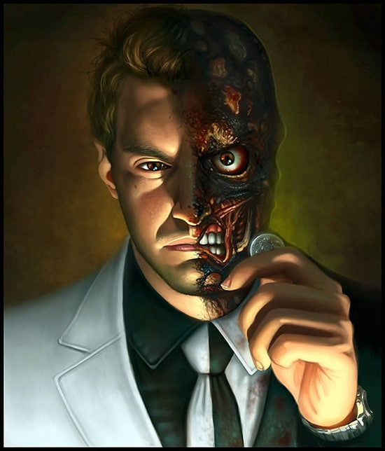 "Create a ""Two-Faced"" Digital Painting in Photoshop"