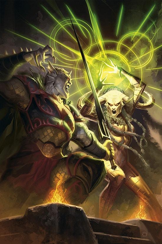 Demon Knights No.12