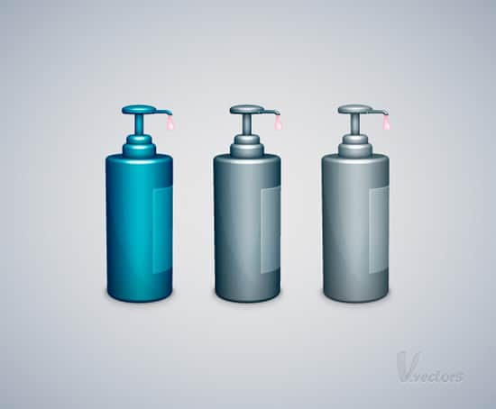 How to Create a Liquid Soap Bottle Vector Illustration