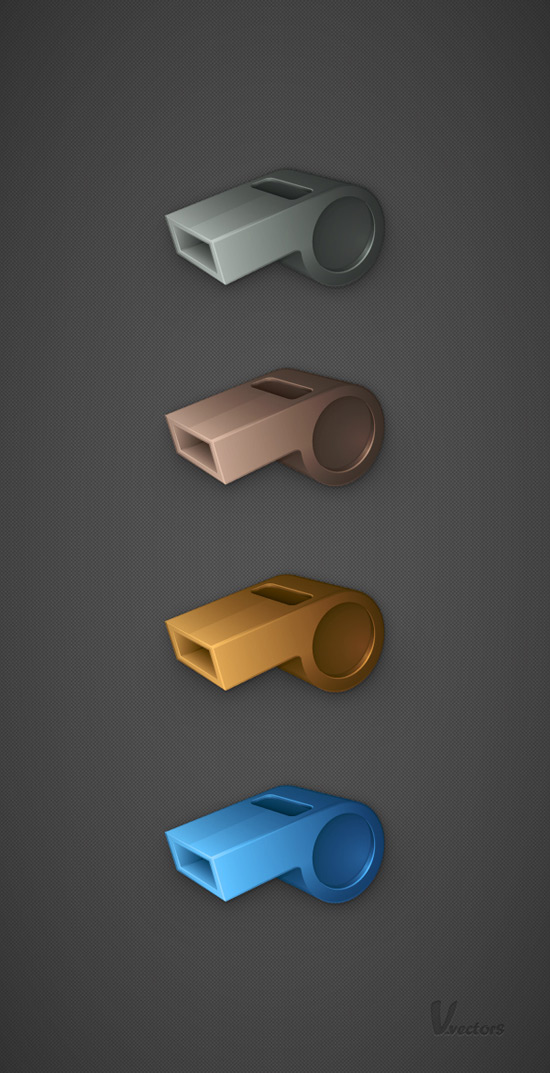 How to Create a 3D Whistle using Adobe Illustrator